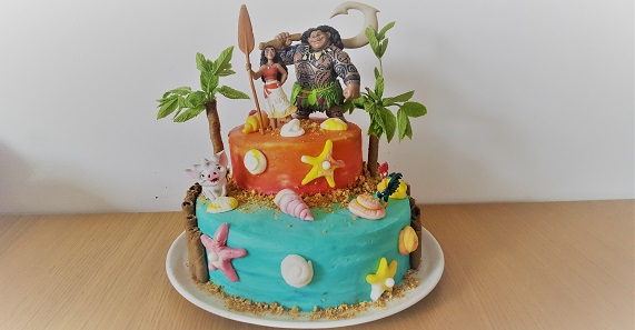 Moana birthday cake I Heart Patisserie
